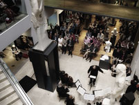 Image: OSJ performing at the Ashmolean Museum (David Smith)