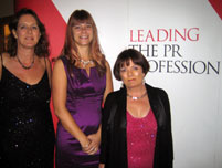 Image: The Firebird team at the CIPR PRide Awards 2011